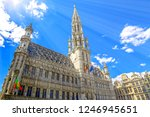 town hall in main square  grote ... | Shutterstock . vector #1246945651
