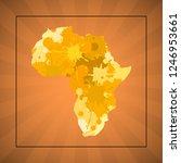 sketch blot dotty african...   Shutterstock . vector #1246953661