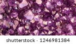 Background With Amethyst...