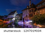 panorama of traditional... | Shutterstock . vector #1247019034