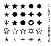 star icons set. five star... | Shutterstock .eps vector #1247029477