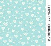 Endless Blue Romantic Simple...