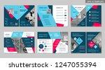 brochure creative design.... | Shutterstock .eps vector #1247055394
