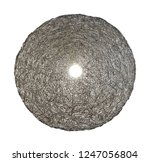 spherical wire lampshade... | Shutterstock . vector #1247056804
