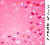 valentine | Shutterstock .eps vector #124706731