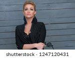 fashion portrait of sexy woman...   Shutterstock . vector #1247120431