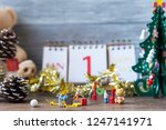 miniature people prepare... | Shutterstock . vector #1247141971