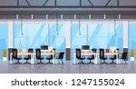 modern office interior... | Shutterstock .eps vector #1247155024