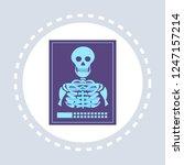 mri or magnetic resonance image ... | Shutterstock .eps vector #1247157214