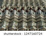 wat arun or temple of dawn is... | Shutterstock . vector #1247160724
