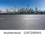 panoramic skyline and buildings ... | Shutterstock . vector #1247200441