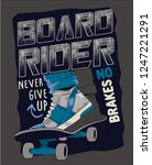 Skateboarding Vector Design Go...
