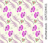 abstract floral background.   Shutterstock .eps vector #1247224411