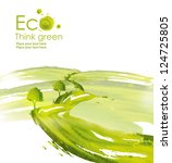 illustration environmentally... | Shutterstock . vector #124725805