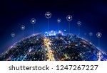 5g network wireless systems and ... | Shutterstock . vector #1247267227