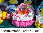 flea market   folk crafts.... | Shutterstock . vector #1247270104
