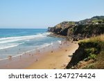 coastline in bakio town  basque ...   Shutterstock . vector #1247274424
