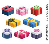 8 various presents   gift boxes ...
