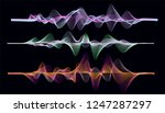 frequency audio music equalizer ... | Shutterstock .eps vector #1247287297