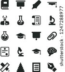 solid black vector icon set  ... | Shutterstock .eps vector #1247288977