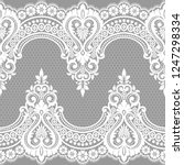 lace seamless pattern | Shutterstock .eps vector #1247298334