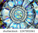gradient glass structure... | Shutterstock . vector #1247301061