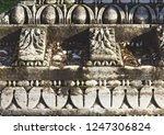 roman decorative element from... | Shutterstock . vector #1247306824