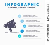 bullhorn  digital  marketing ... | Shutterstock .eps vector #1247325187