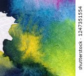 watercolor abstract bright... | Shutterstock . vector #1247351554