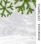 christmas and new year poster... | Shutterstock .eps vector #1247360911