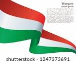 flag of hungary  hungary....   Shutterstock .eps vector #1247373691