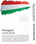 flag of hungary  hungary....   Shutterstock .eps vector #1247373751