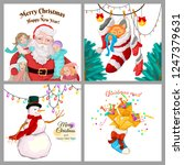 Christmas Greetings Cards With...