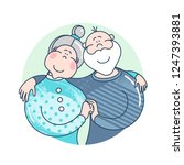 mother's and father's day.... | Shutterstock .eps vector #1247393881