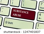 text sign showing substance... | Shutterstock . vector #1247401837