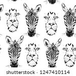 hand drawn vector abstract... | Shutterstock .eps vector #1247410114