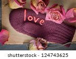 decorative composition with... | Shutterstock . vector #124743625
