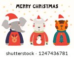 hand drawn vector illustration... | Shutterstock .eps vector #1247436781