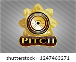 shiny emblem with...   Shutterstock .eps vector #1247463271