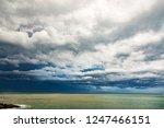 thunderstorm weather over the...   Shutterstock . vector #1247466151