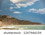 taormina tourist town in sicily   Shutterstock . vector #1247466154
