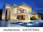 3d rendering of an upscale... | Shutterstock . vector #1247473441