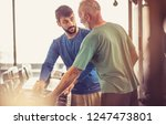 choose the weight for your... | Shutterstock . vector #1247473801