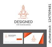 business logo template for... | Shutterstock .eps vector #1247509681