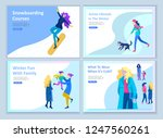 set of landing page templates.... | Shutterstock .eps vector #1247560261