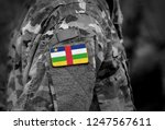 flag of central african... | Shutterstock . vector #1247567611