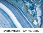 blue malachite stone texture... | Shutterstock . vector #1247570887