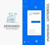 business logo for analysis ... | Shutterstock .eps vector #1247608321