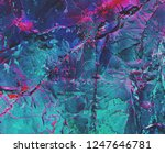 Abstract purple background. Holographic neon colors. Texture marble pattern. Rock texture. Stone background. Rock holography. Fantasy wallpaper abstraction nacre. Dark fantasy wallpaper abstraction.