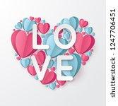 illustration of love and...   Shutterstock .eps vector #1247706451